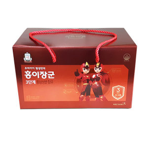 정관장 홍이장군 3단계 90포 어린이홍삼.