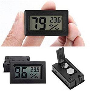 미니 온습도계 온도계 습도계 사각블랙 SCG-30