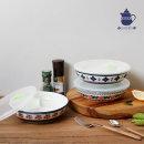 폴라브 밀폐 세칸찬통 (대) 3개세트 / 반찬통 접시