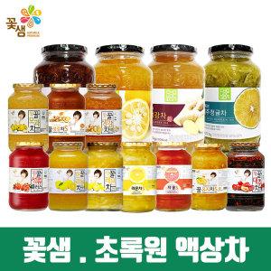 (1+1) 꽃샘 초록원/유자차/모과차/생강차/대추/청귤차