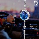 TL 차량용 룸미러 시계-방향제 2in1