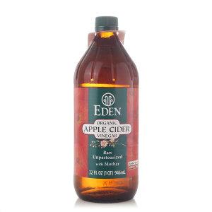 에덴 유기농 발효 생 사과식초 946ml