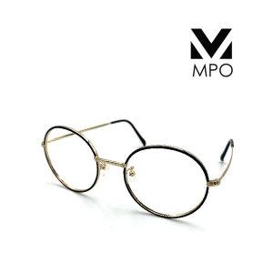 MPO 국산 두꺼운 동글이 블루라이트 UV 차단 안경