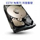 블루라인 DVR 녹화기 전용 저장용량 2000G 2T