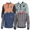 야마구찌골프셔츠/차이나카라/골프웨어/중년셔츠