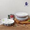 폴라브 밀폐 세칸찬기 (특대) / 반찬통 접시