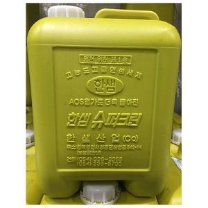 한샘 마일드크린 특 주방용 세척제 주방세제 13kg