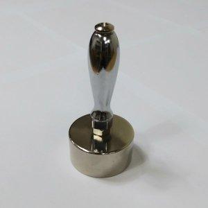 자석홀더 고리자석 자석 50파이 25T M8+스틸 손잡이