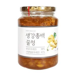 이고장식품 생강총백꿀청 500g 생강차 생강청 국내산