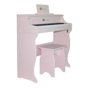어린이피아노 레노피아 49건반 파스텔 핑크 Vernhoyce VH-49 Pink-레노피아 무료배송