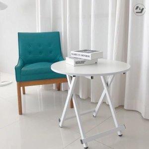 티테이블 원형테이블 접이식 탁자 인테리어소품