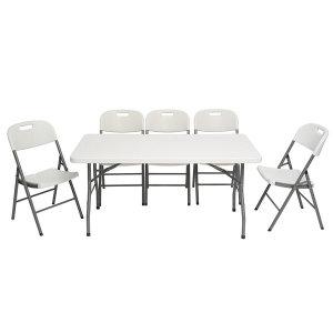 접이식테이블 1500 캠핑 행사용 야외용테이블 브로몰딩