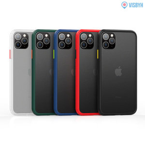 1+1 아이폰11프로 슬림 범퍼케이스 젤리 투명 하드