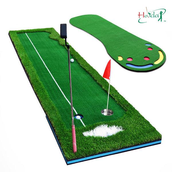 와이드 퍼팅연습기 골프 스윙 퍼터 퍼팅매트 연습용품