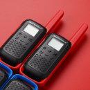 모토로라 T62 생활무전기 레드 색상