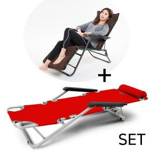META3+코듀로이커버 야전침대 접이식침대 침대의자