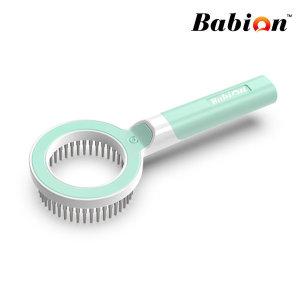 강아지 고양이 빗 360 Pet comb 핀 마사지 브러쉬 민트