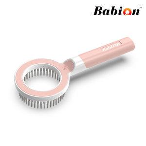 강아지 고양이 빗 360 Pet comb 핀 마사지 브러쉬 핑크