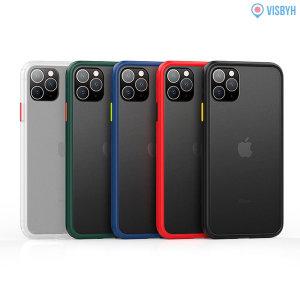 1+1 아이폰11프로맥스 슬림 범퍼케이스 투명젤리 하드