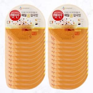 햇반 매일 콩 잡곡밥 210g X24개