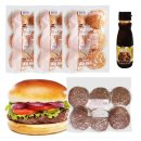 소불고기버거 만들기세트 18인분/햄버거 햄버거재료