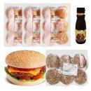한우버거 만들기세트 18인분/햄버거 햄버거재료