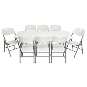 접이식테이블 1800 캠핑 행사용 야외용테이블 고정식