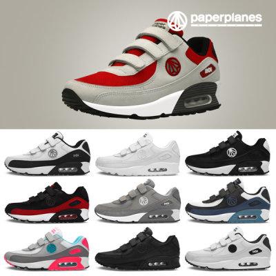 [페이퍼플레인] 신발 운동화 밸크로 에어 PP1408 커플 단화 스니커즈