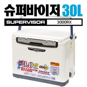 가자낚시 슈퍼바이저 아이스박스 30L (3000RX) 쿨러