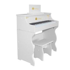 어린이피아노 37건반 프레셔스 화이트 다양한 기능