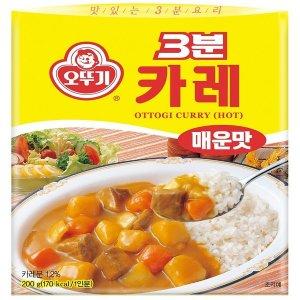 오뚜기_3분카레매운맛_200G