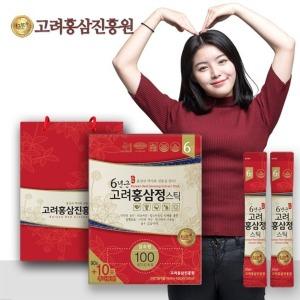 고려홍삼진흥원 6년근 홍삼정 스틱 타워형 100포