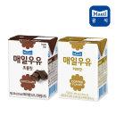 매일 멸균우유 초코맛+커피맛 200ml 24팩(총48팩)