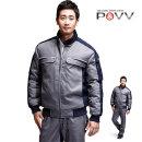 파브 겨울 점퍼 WM-J1306 작업복 상의 자켓 근무복