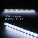 진열장 간접조명 LG칩 12V LED바 40cm_투명/쿨화이트