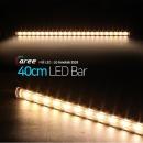 진열장 간접조명 LG칩 12V LED바 40cm_투명/전구색