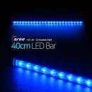 진열장 간접조명 LG칩 12V LED바 40cm_투명/파랑