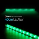진열장 간접조명 LG칩 12V LED바 40cm_투명/녹색