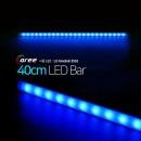 진열장 간접조명 LG칩 12V LED바 40cm_불투명/파랑