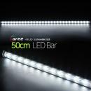 진열장 간접조명 LG칩 12V LED바 50cm_투명/퓨어화이트