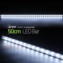 진열장 간접조명 LG칩 12V LED바 50cm_투명/쿨화이트
