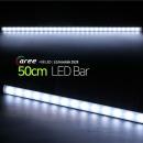 진열장 간접조명 LG칩 12V LED바 50cm_불투명/쿨화이트