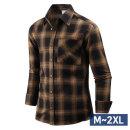 남자 겨울 아메리칸 체크 남성 기모 셔츠 남방 sp1688