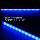 진열장 간접조명 LG칩 12V LED바 50cm_불투명/파랑