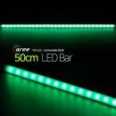 진열장 간접조명 LG칩 12V LED바 50cm_불투명/녹색