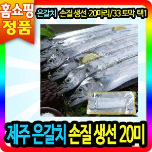 제주 은갈치 손질 생선 20미/33토막 선물 세트 반찬
