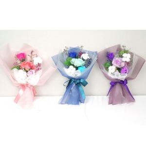 초등학교 학예회 재롱잔치 비누 목화 조화 꽃다발