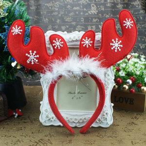 (산타핫딜) 방울눈꽃 머리띠/크리스마스/산타의상 19번