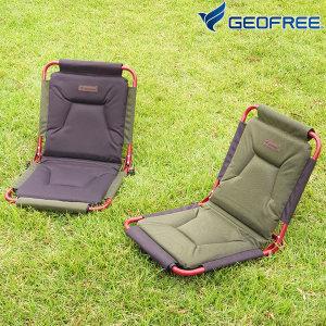 프리미엄 패드 그라운드 체어 GF316005 야외용 캠핑 접이식 좌식의자/ 지오프리