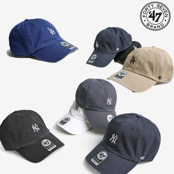 정품 47브랜드 스몰로고 LA 다저스 NY뉴욕 야구볼캡